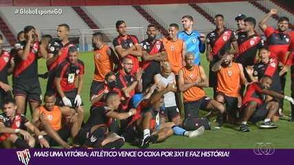 Atlético-GO vence Coritiba e estabelece sua melhor campanha na história da Série A