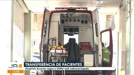 Hospitais buscam vagas para a transferência de pacientes em SC