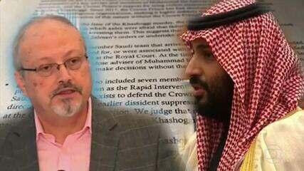 Governo americano responsabiliza príncipe saudita pelo assassinato do jornalista Jamal Khashoggi, em 2018