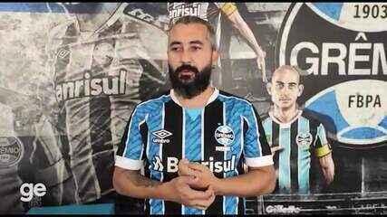 Douglas aposta em força coletiva do Grêmio e guarda lugar especial para Copa do Brasil
