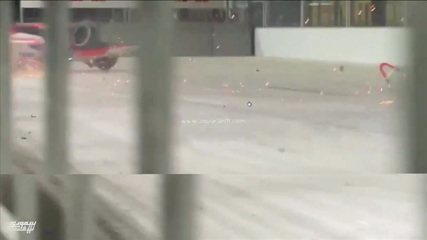 Confira imagens do acidente de Alex Lynn em etapa da Arábia Saudita da Fórmula E