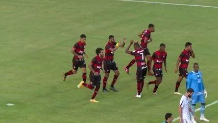 Gols de Vitória 2 x 0 Santa Cruz, pela Copa do Nordeste
