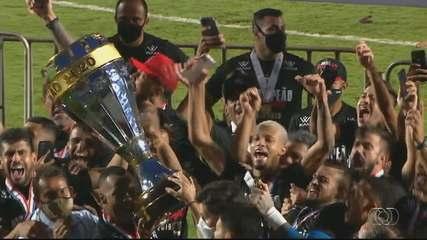 Veja os gols e a festa do Atlético-GO, campeão goiano de 2020