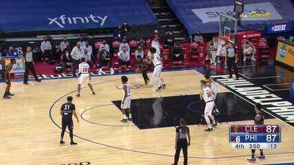 Melhores momentos: Philadelphia 76ers 109 x 112 Cleveland Cavaliers pela NBA