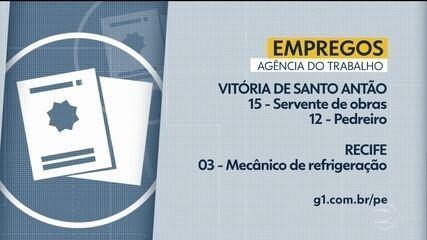 Confira vagas de emprego disponíveis nesta segunda-feira