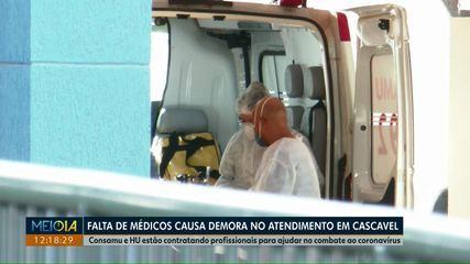 Coronavírus: 130 pacientes aguardam por vaga em leitos do SUS na macrorregião oeste