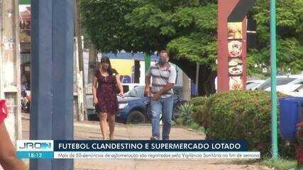 Mais de 50 denúncias de aglomeração são registradas em Ji-Paraná