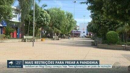 Limeira retorna à fase laranja e Mogi Guaçu inicia restrições de circulação nesta terça