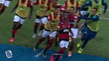 Melhores momentos de Flamengo 1 x 0 Nova Iguaçu pela 1ª rodada do Campeonato Carioca