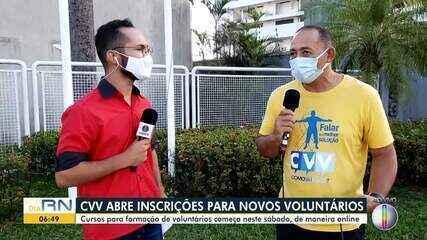 CVV abre inscrições para novos voluntários em Natal e Caicó