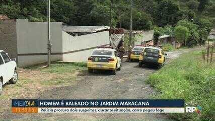 Homem leva tiro no Jd. Maracanã, em Ponta Grossa