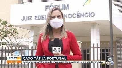 Caso Tátila Portugal: Polícia faz reconstituição do crime para comprovar se foi feminicídio