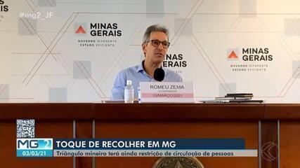Estado cria Onda Roxa com mais restrições para o 'Minas Consciente'