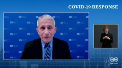 Governo americano apresenta plano para combater variantes do coronavírus