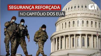 VÍDEO: Sob alerta de ameaça, Capitólio, nos EUA, tem policiamento reforçado