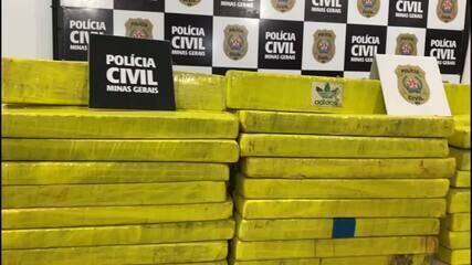 Polícia Civil de Juiz de Fora apreende 100kg de maconha durante primeiro bimestre de 2021