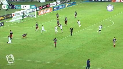 Melhores momentos: Resende 2 x 1 Fluminense, pela 1ª rodada do Campeonato Carioca