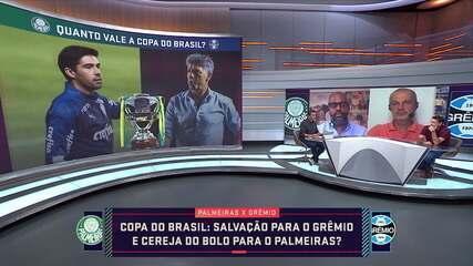 Seleção SporTV discute o peso do título da Copa do Brasil para Palmeiras e Grêmio