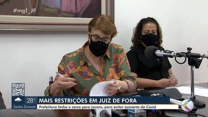 Prefeitura de Juiz de Fora aumenta as restrições para conter pandemia na cidade