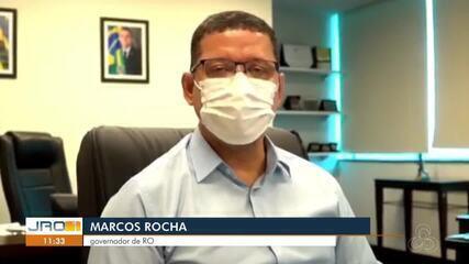 Governador Marcos Rocha fala que decreto estadual deve ser alterado