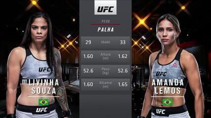 UFC 259 - Livinha Souza x Amanda Lemos