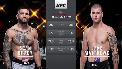 UFC 259 - Sean Brady x Jake Matthews
