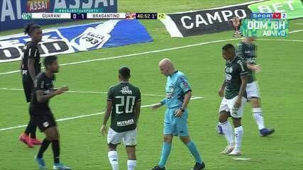 Os melhores momentos de Guarani 1 x 1 Bragantino pela rodada 3 do Campeonato Paulista