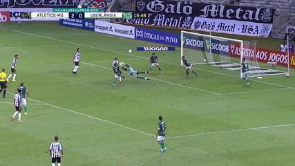 Melhores momentos de Atlético-MG 4 x 0 Uberlândia pela 3ª rodada do Campeonato Mineiro