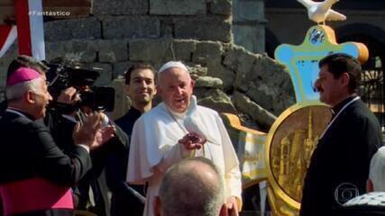 Papa encerra visita ao Iraque com mensagem de paz