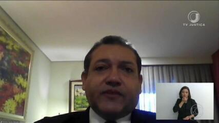 Nunes Marques pede vista e adia julgamento no STF sobre suspeição de Moro