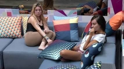 Thaís comenta sobre volta de Carla Diaz no BBB21: 'Projota ficou bem pensativo'