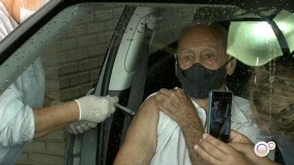 Tupã encerra nesta sexta-feira a vacinação da segunda dose em idosos com mais de 85 anos