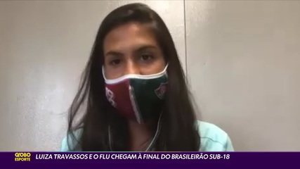 Luiza Travassos e o Fluminense chegam à final do Brasileirão Sub-18