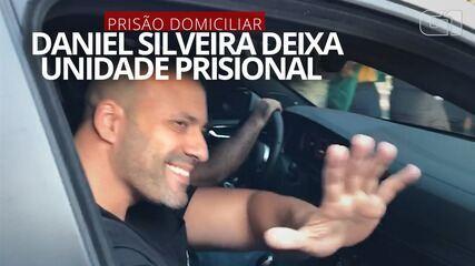 Daniel Silveira deixa Unidade Prisional da PM em Niterói