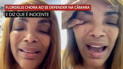 VÍDEO: Flordelis chora e se diz inocente no Conselho de Ética da Câmara