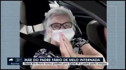 Veja reportagem do dia 16 de março, sobre a internação de Ana Maria de Melo