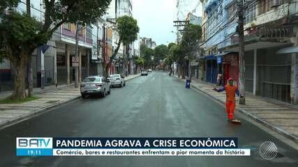 Covid-19: Quase 70% dos bares e restaurantes na BA fecharam ou podem  encerrar atividades, aponta Abrasel   Bahia   G1