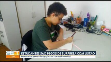 Na quinta (18), Lívia foi uma das entrevistadas em uma reportagem do SPTV sobre a divulgação da lista de aprovados na Fuvest 2021. Confira a reportagem de Mariana Aldano.