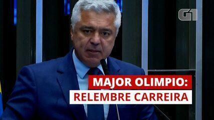 Major Olímpio foi militar, jornalista e deputado antes de ser senador; relembre carreira