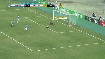 Melhores momentos de Marília 0 x 0 Criciúma pela primeira fase da Copa do Brasil