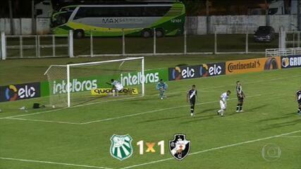 Vasco avança para a segunda fase da Copa do Brasil