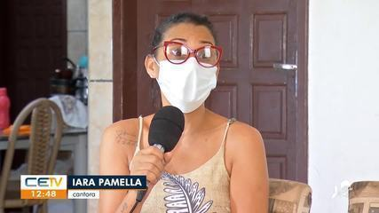 Sem shows, cantora deve R$ 6 mil de aluguel