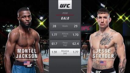 UFC Brunson x Holland - Montel Jackson x Jesse Strader