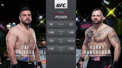 UFC Brunson x Holland - Tai Tuivasa x Harry Hunsucker