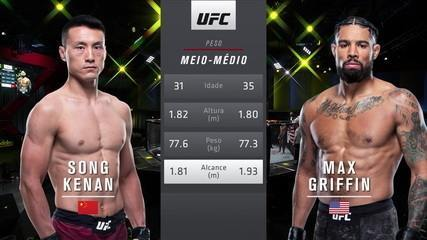 UFC Brunson x Holland - Kenan Song x Max Griffin