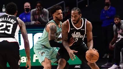 Melhores momentos: Los Angeles Clippers 125 x 98 Charlotte Hornets pela NBA