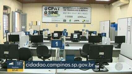 Centro Público de Apoio ao Trabalhador de Campinas retoma atendimento presencial