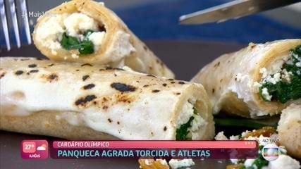 Panqueca de Espinafre com Ricota do Chef Allan Salles