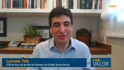 Juro pode ir além de 4,5% e chegar a 6,5%, diz Telo, do Credit Suisse