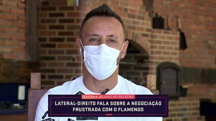 Rafinha fala sobre a negociação frustrada com o Flamengo